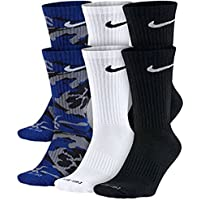 Nike Dri-FIT Cushion Crew Socks (Multi Color)