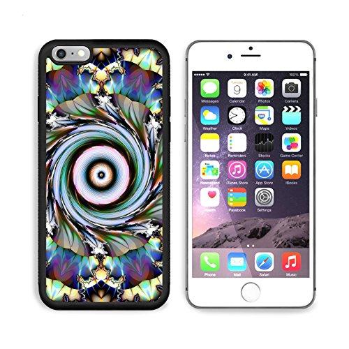 MSD Premium Apple iPhone 6 Plus iPhone 6S Plus Aluminum Backplate Bumper Snap Case Floral Design IMAGE 10056230 by MSD Customized - Designs Snap Floral