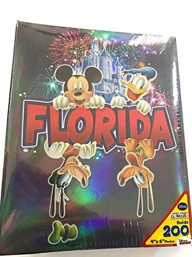 (Disney Mickey Mouse Gang Florida Sweet Memories 200 Picture Photo Album 4x6)