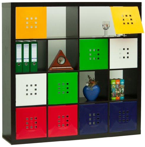 Ikea regal kallax mit türen  Dekaform Designer Tür für Würfelregal Flexi Einsatz Ikea Regal ...