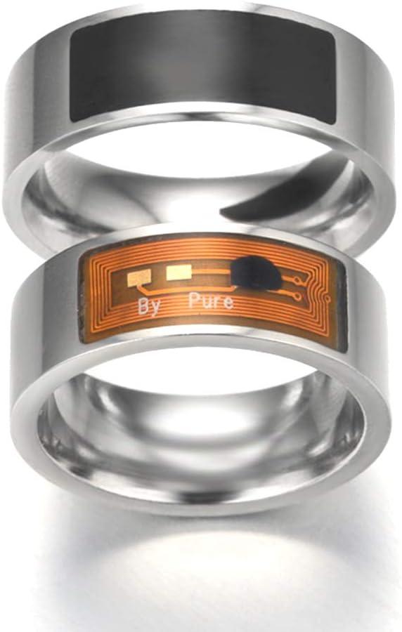 programmierbar NFC Smart Finger Ring wasserdichte digitale intelligente Zugangskontrolle f/ür Smart Phone Tablet Verschl/üsselung der Privatsph/äre Informationen teilen und /übertragen