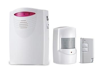 easyalarms EA9 - Alerta inalámbrica y resistente a la intemperie para jardín, cobertizo, caravana, garaje, salida, seguridad de ladrillos: Amazon.es: ...