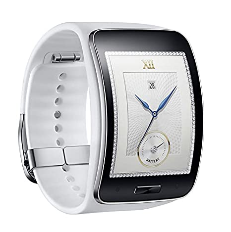 Samsung Gear S SM-R750 (S/K) Curved Super AMOLED Smart Watch ...