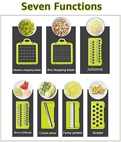 rallador cesta cortadora de verduras zanahoria PIN accesorios de cocina Cortador de verduras multifuncional con mandolina cortadora de frutas y patatas