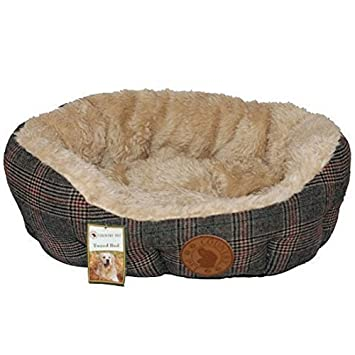 Country Pet - Cama para perros o gatos, diseño de tweed: Amazon.es: Productos para mascotas