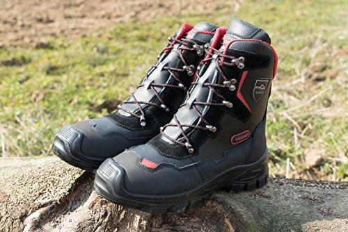 Oregon, stivali protettivi da lavoro Yukon classe 1, nero, 295449/44
