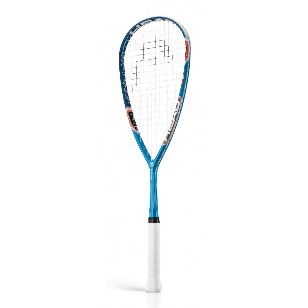 HEAD Graphene Squash Racquet Series (Cyano115,Neon130,Cyano135) (135.00)