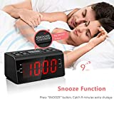 Jingsense Digital Alarm Clock Radio with AM/FM