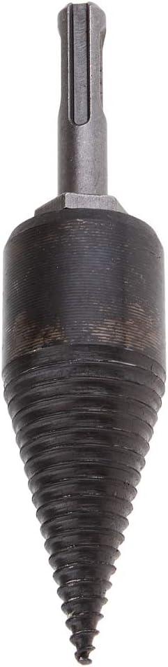 A# quadrat Schaft 32mm Kegelbohrer Stufenbohrer Spaltgranate Spaltkeil Holzspalter