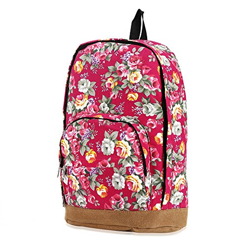 Full Sized Canvas Backpack - 6