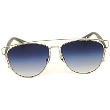 ecacb0e8834a Image Unavailable. Image not available for. Color  Dior Technologic - 84J84  Silver Black Sunglasses