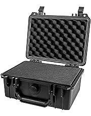HMF ODK100 Outdoor-fotokoffer, wapenkoffer met rasterschuim, verschillende maten
