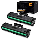 JARBO Compatible Toner Replacement for Samsung MLT111S MLT-D111S MLTD111S D111S, High Yield, 2 Black, Use with Samsung Xpress M2020W, Samsung Xpress M2070FW, Samsung Xpress M2070W Laser Printer