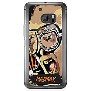 Loud Universe Madmax HTC 10 Case Famous Movie Poster HTC 10 Cover with Transparent Edges