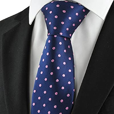 Azul marino de lunares, Purple Classic Men Tie Traje formal ...