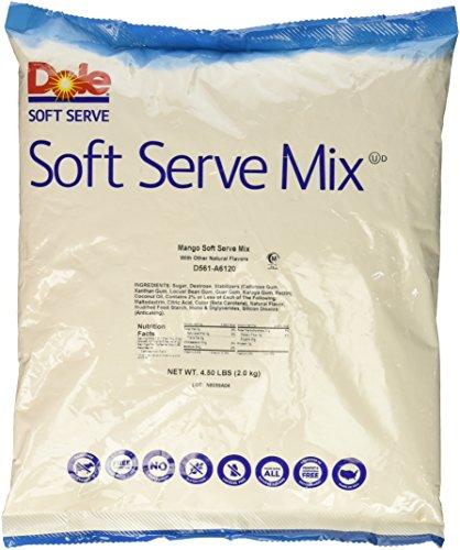 Mango Dessert Coconut (Dole Soft Serve Mix, Mango, 4.75 Pound)
