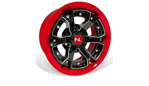 156 mm Storm 2 Piece Modular Wheel 14 x 7 Polaris Polaris Indy Red