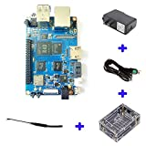 SmartFly Info BPI M2 Ultra R40 Quad-Core 2GB DDR3 RAM with SATA WiFi Bluetooth 8GB eMMC Demo Board Single Board Computer, Ship with Powerful Accessories