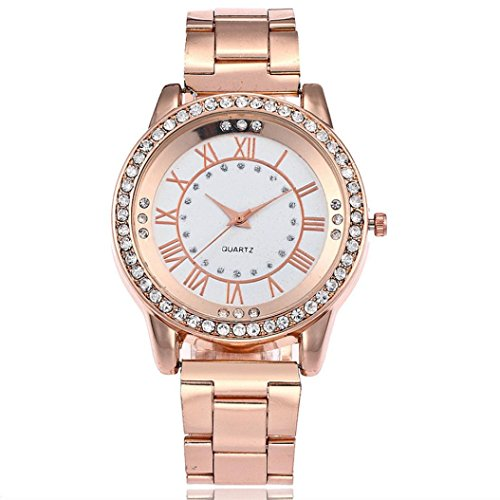 Watch Lover Gold (Pocciol Wristwatch, Luxury Womens Wrist Watch - 42mm Analog Watch - Soft Quartz Movement (Rose Gold))