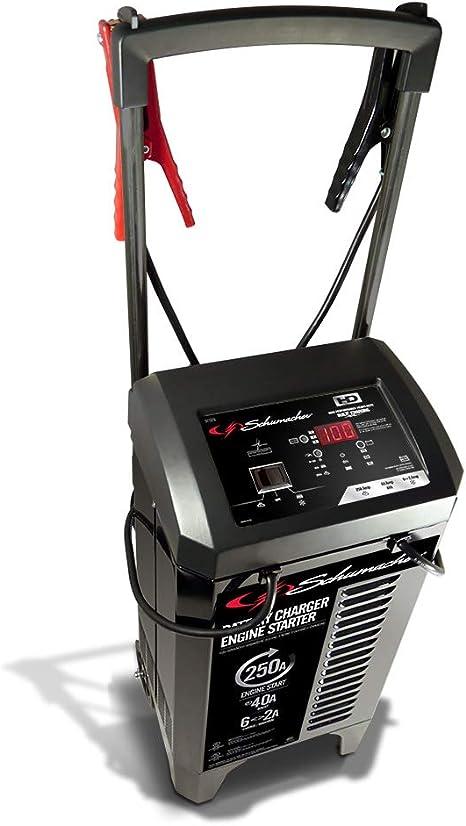 Amazon.com: Schumacher SC1325 2/6/40/250A 6/12 V cargador de ...