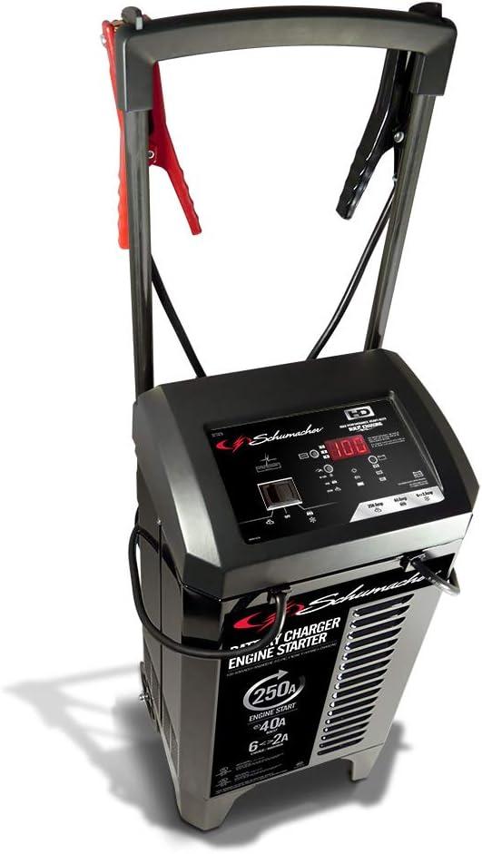 Schumacher SC1325 2//6//40//250A 6//12V Wheel Battery Charger and Engine Starter
