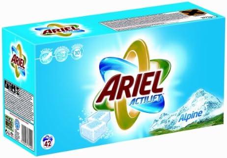 Ariel – Detergente de pastillas – Alpine – Caja de 84 pastillas ...