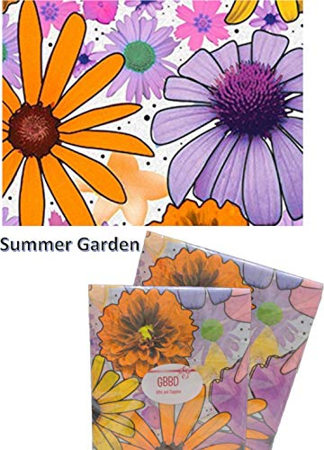 - Floral Tissue Paper for Gift Wrapping 24 Decorative Sheets 20