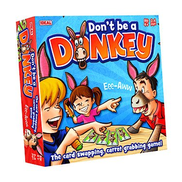 Don't Be A Donkey Game from Ideal John Adams 10499