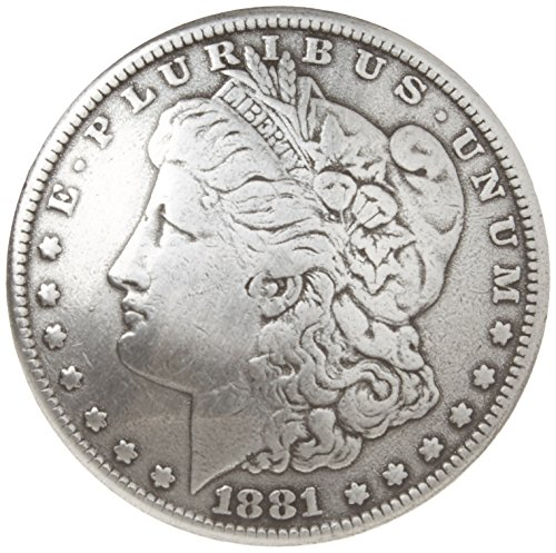 "Price comparison product image Concho 1-3 / 8"" Antique Silver 1 / Pkg-Morgan Dollar Heads"