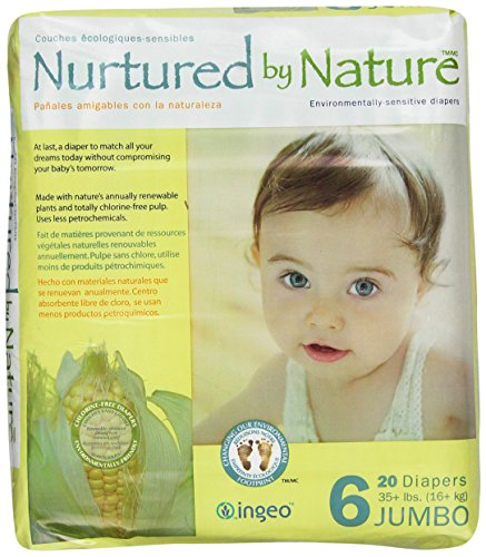 Nurtured by Nature Environmentally-Sensitive Diapers, XX-Large Size 6, 20 count (Pack of  4)