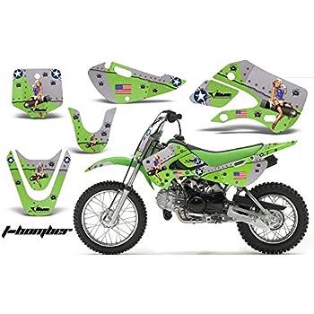 Kawasaki KLX110 KX65 2002-2009 Decal Graphics Kit for Dirt Bike MX ...