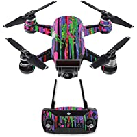 Skin for DJI Spark Mini Drone Combo - Drips| MightySkins Protective, Durable, and Unique Vinyl Decal wrap cover | Easy To Apply, Remove, and Change Styles | Made in the USA