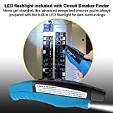 Circuit Breaker Finder with GFCI Circuit Tester
