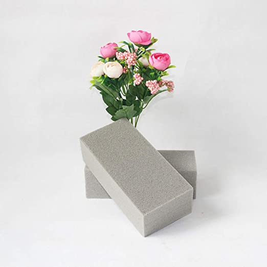 Wet Floral Foam Brick for Fresh Flowers Craft Florist Case of 20 Bricks