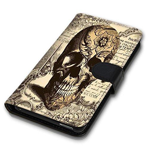 Wallet Book Style Flip Handy Tasche Case Schutz Hülle Schale Motiv Etui für Apple iPhone 4 / 4S - Design Flip MVD350
