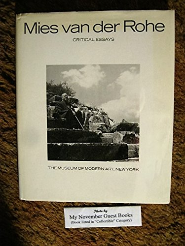 Mies van der Rohe: Critical Essays - Barcelona Tower