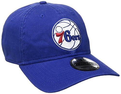New Era NBA Philadelphia 76ers Core Classic 9Twenty Adjustable Cap, Royal, One Size