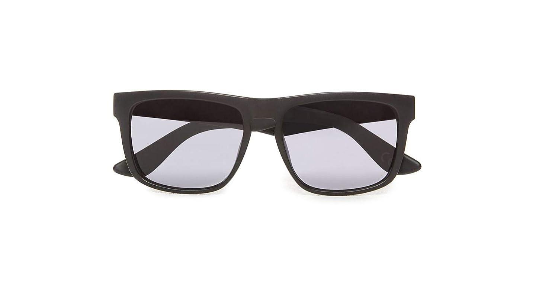 4975f0c69ba2d Amazon.com  Vans Squared Off Sunglasses One Size Black Black  Sports    Outdoors
