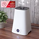 5 L Cool LCD Mist Ultrasonic Humidifier - By Choice Products