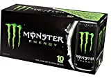 Monster Energy Drink, Green, Original, 16 Ounce (Pack of 20)