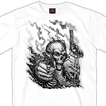 Hot Leathers Unisex-Adult T-Shirt BLACK Medium