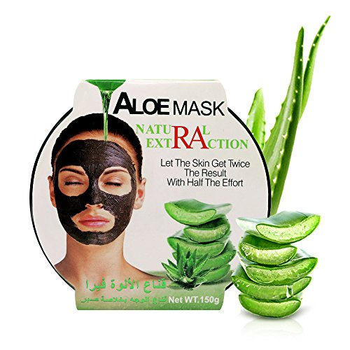 AINATU Aloe Vera Peel Off Facial Mask - Blackhead Removal Ge