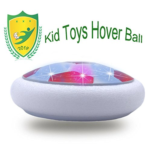 E&W Amazing Hover Ball for Family Activity with 3-12 Old Girls Sport Children toys Training(Style1 Red)
