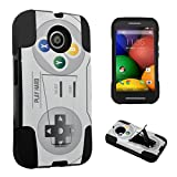 DuroCase Motorola Moto E 1st Gen. XT1021 (2014 Released) Kickstand Bumper Case – (Video Game Controller) Review