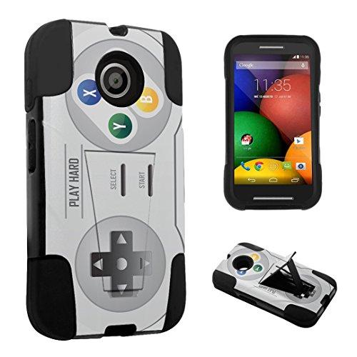 DuroCase Motorola Moto E 1st Gen. XT1021 (2014 Released) Kickstand Bumper Case – (Video Game Controller) Review