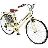 Columbia Bicycles Streamliner 700c Women's 7-Speed City Cruiser Bike