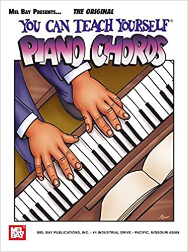 Mel Bay You Can Teach Yourself Piano Chords You Can Teach Yourself