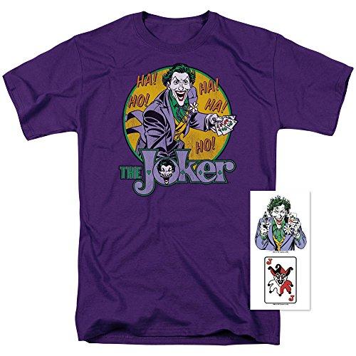 The Joker DC Comics Supervillain T Shirt (XX-Large) (Dc Comics Joker)