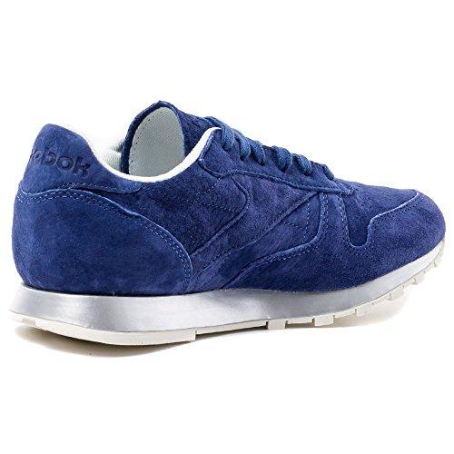Femme Leather Mehrfarbig 001 Reebok Classic Baskets V68760 blue aTIwnBv