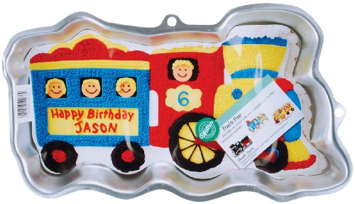 Wilton Train Pan (Wilton Thomas The Train Cake Pan Instructions)